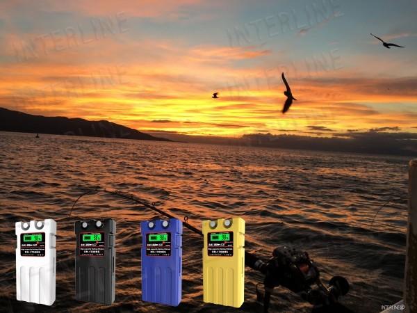 電動リール 船釣り スーパーリチウム バッテリー 14000mAh  業界最大パワー DN-シリーズ(カバー充電器付き)青色 送料無料_画像2