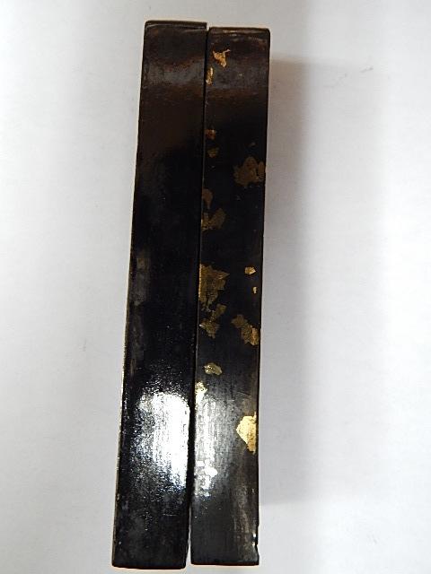 ●翠芳園監製・未使用古墨 「紅花墨・三ツ星・中型」 30本・約1870g ●_画像4