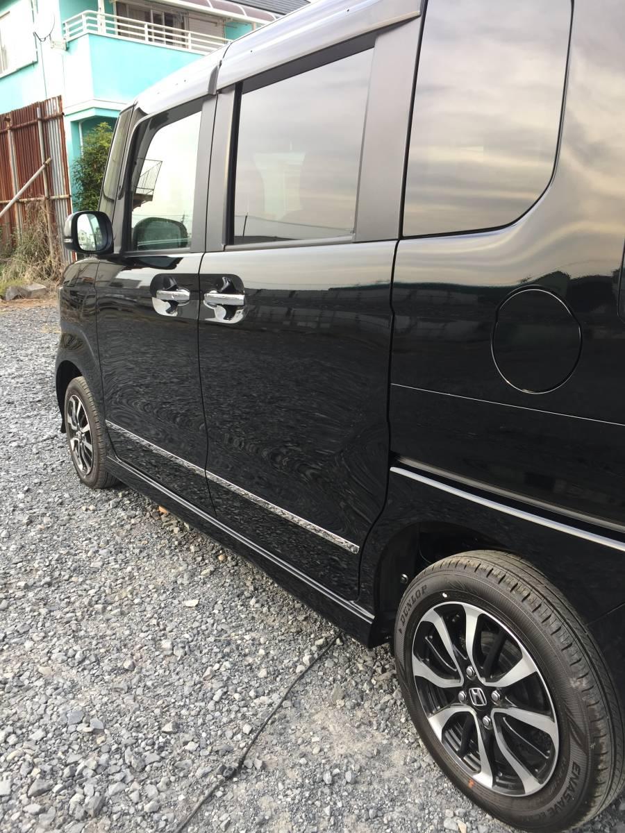 激安 超低走行 人気のクロ系 現行 N-BOX カスタム G・L 4WD HONDASENSING 車検タップリ 全て込み込み価格_画像5