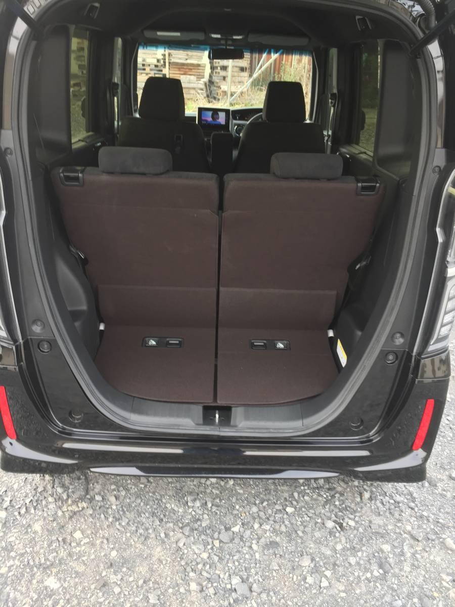 激安 超低走行 人気のクロ系 現行 N-BOX カスタム G・L 4WD HONDASENSING 車検タップリ 全て込み込み価格_画像9