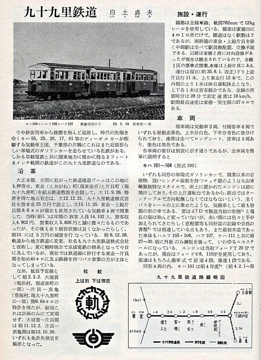 鉄道ピクトリアル 号外(1965年9月再版)私鉄車両めぐり弟1分冊(1960年12月号)_画像3
