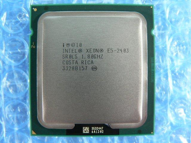 1FLR // Intel Xeon E5-2403 1.80GHz SR0LS Quad(4)-Core Sandy Bridge-EN M1 Socket1356 (LGA1356) // Dell PowerEdge T420 取外_画像1
