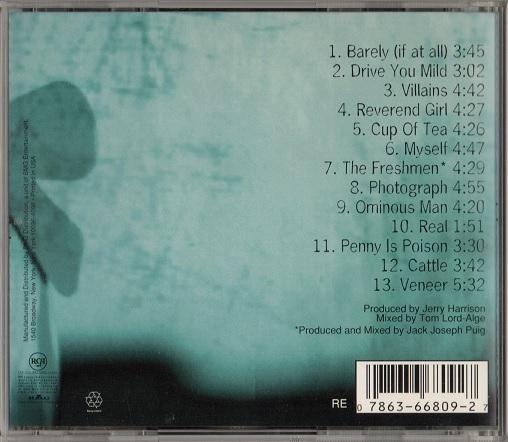 The Verve Pipe / Villains (輸入盤CD) ザ・ヴァーヴ・パイプ