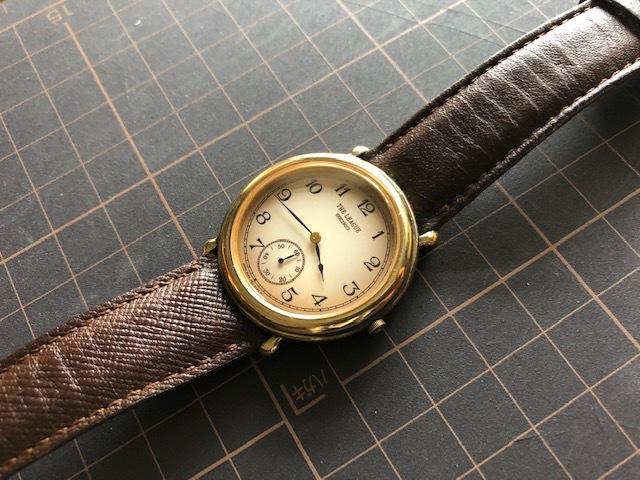 KK417 稀少 レア ヴィンテージ SEIKO/セイコー THE LEAGUE ザリーグ スモセコ 2628-6120 クオーツ メンズ 腕時計_画像4