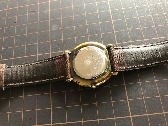 KK417 稀少 レア ヴィンテージ SEIKO/セイコー THE LEAGUE ザリーグ スモセコ 2628-6120 クオーツ メンズ 腕時計_画像6