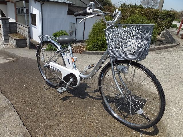 Y:Panasonic/パナソニック/電動自転車/アシスト自転車/26インチ/アシスト動作OK/大阪/3段変速/BE-ENS63S_画像2