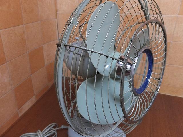 K:MITSUBISHI/扇風機/レトロ/アンティーク/昭和/動作品_画像4