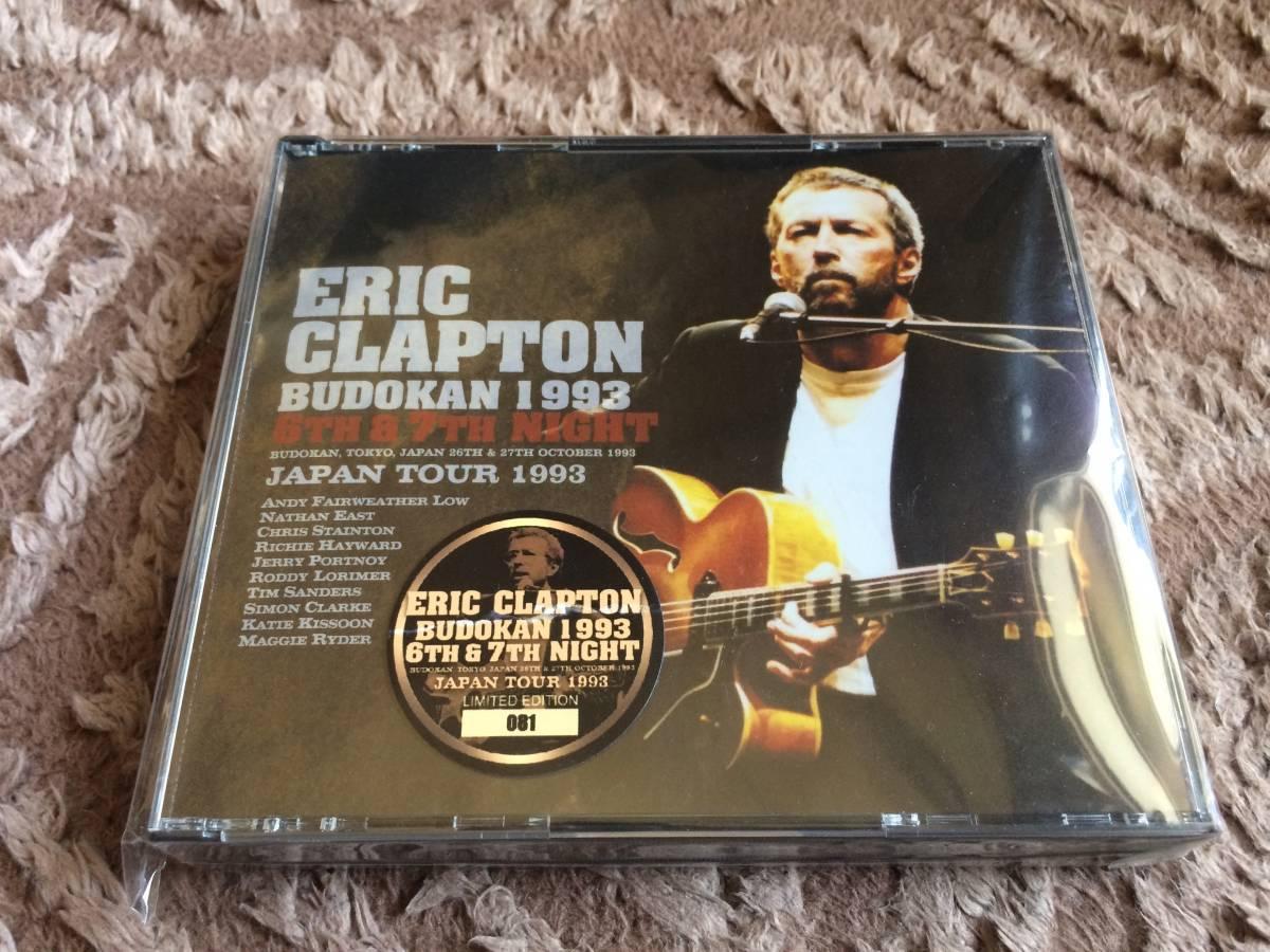 【美品】☆Eric Clapton エリック・クラプトン/ BUDOKAN 1993 6th&7th Night / 4CD