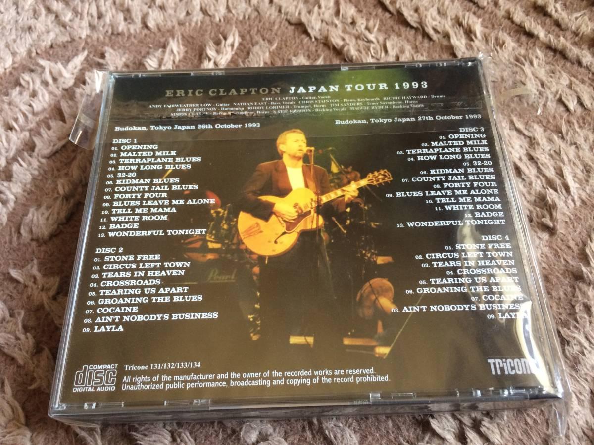 【美品】☆Eric Clapton エリック・クラプトン/ BUDOKAN 1993 6th&7th Night / 4CD_画像2