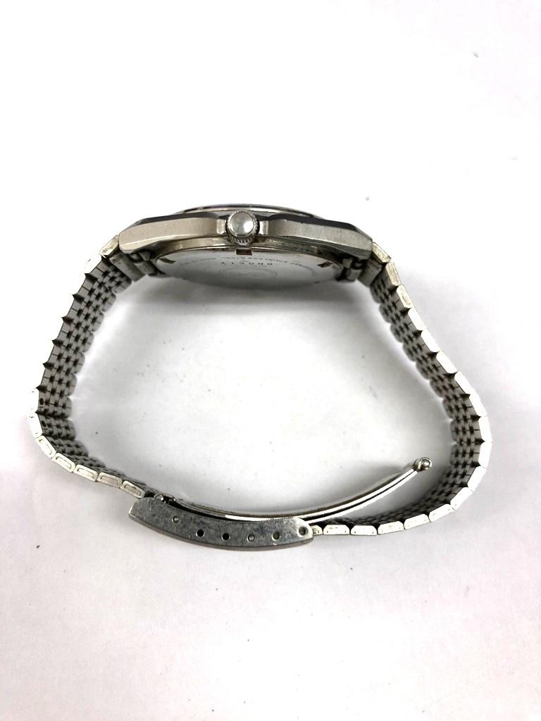 【中古品】SEIKO/セイコー Silver Wave/シルバーウェーブ クォーツ メンズ 腕時計 5933-700A 黒文字盤 デイデイト 電池切れ_画像6