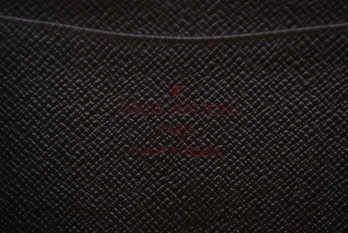 【最落無 極美品】ルイヴィトン Louis Vuitton ダミエ ジッピーウォレット 長財布 レザー メンズ レディース 美品 本物 1円 定価約10万_画像10