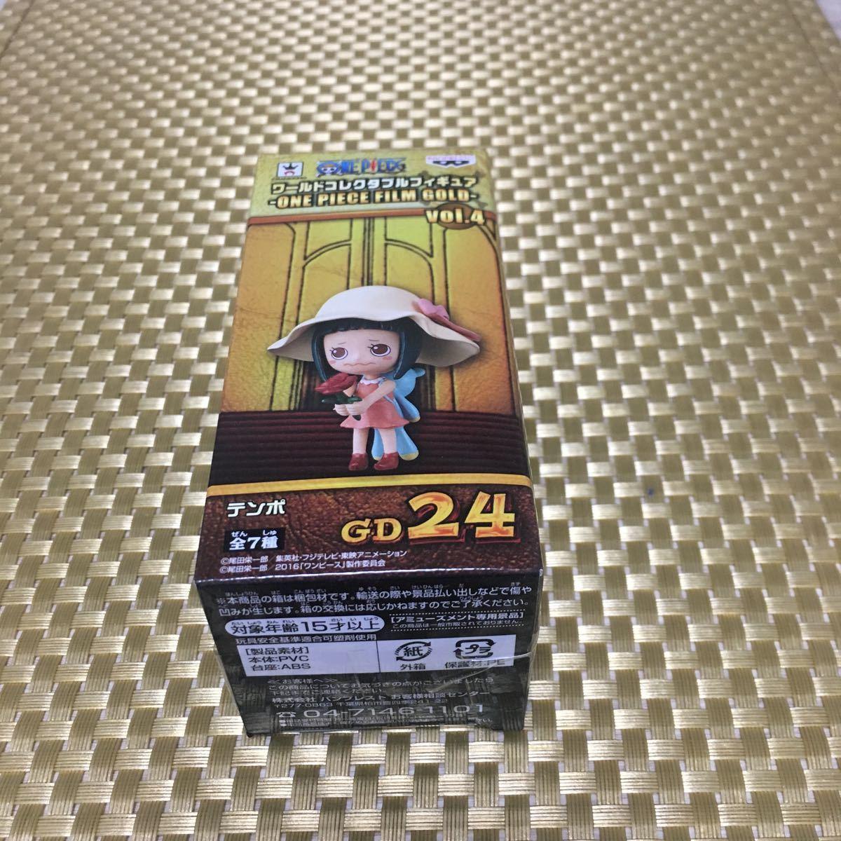ONE PIECE ワンピース ワールドコレクタブルフィギュア ワーコレ WCF 劇場版 FILM GOLD vol.4 テンポ 未開封_画像1