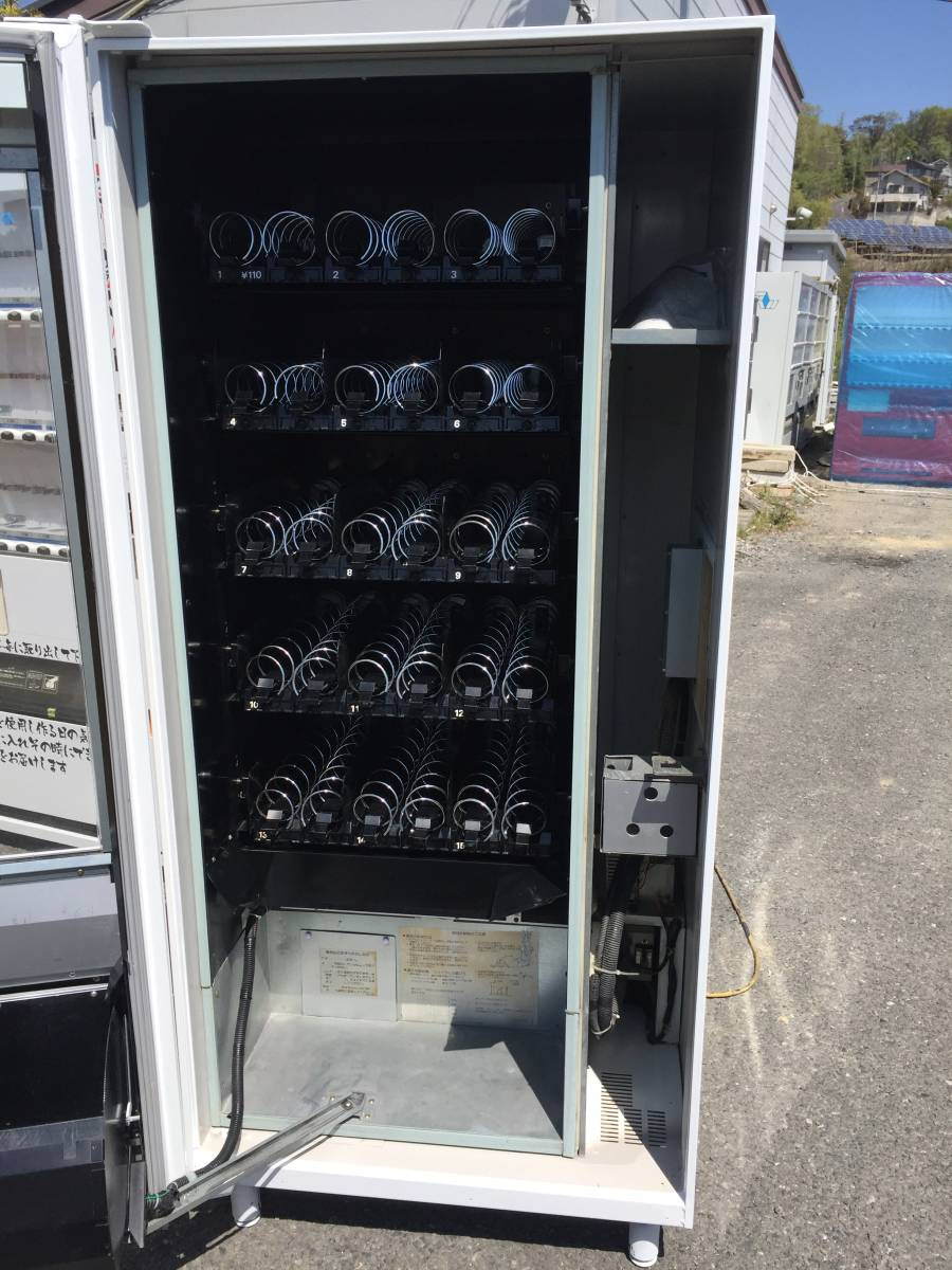 整備済み 冷蔵機能付き 物品 自動販売機 三洋電機製 15セレクション 美品 保証付き 180万円 動作確認済み 動作保証 6か月 即利用可_画像4