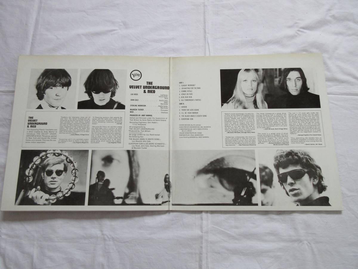 190409/LP/The Velvet Underground & Nico/ ヴぇルヴェット・アンダー・グラウンド・アンド・ニコ_画像2