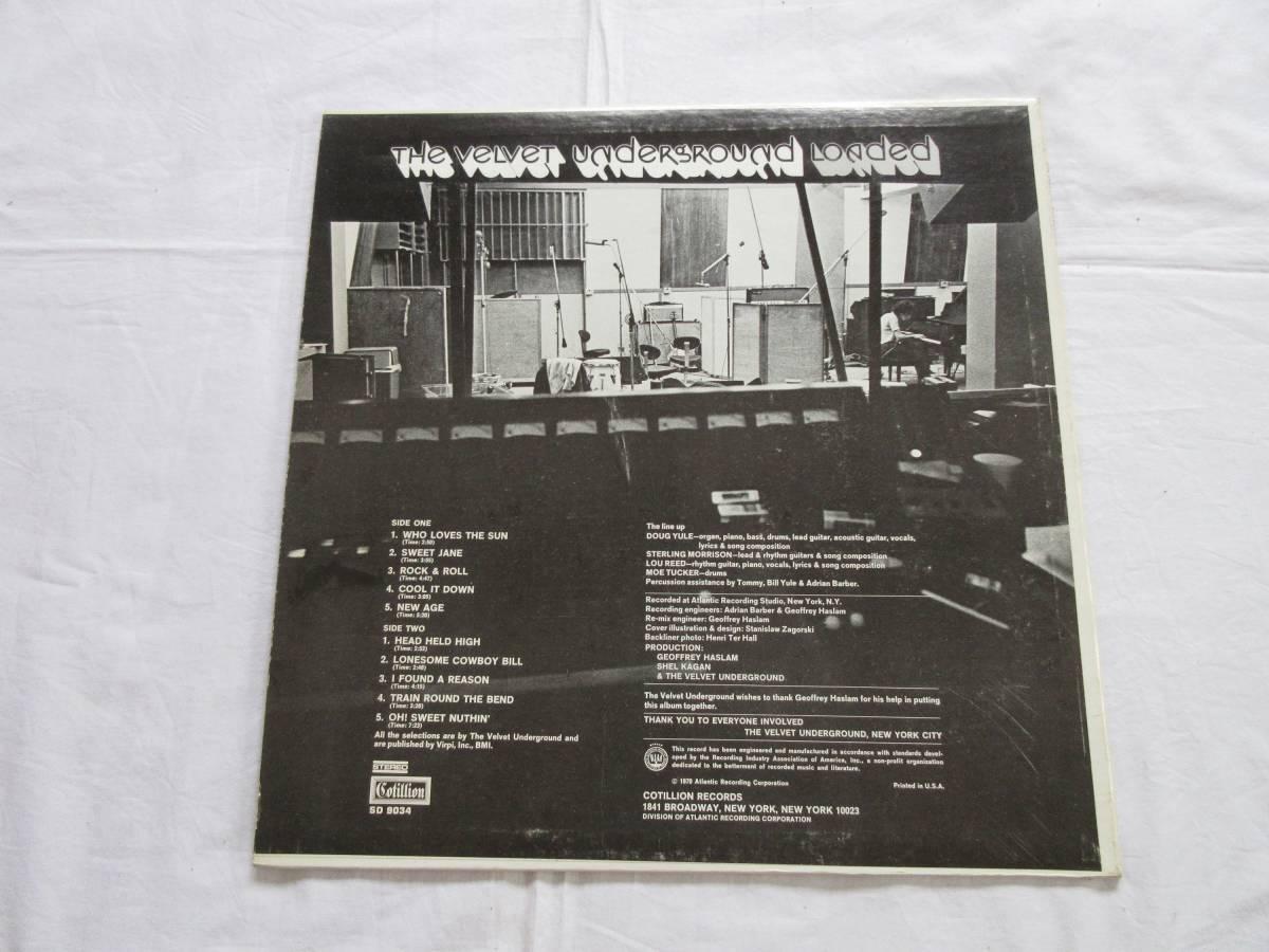 190409/LP/The Velvet Underground /Loaded_画像3