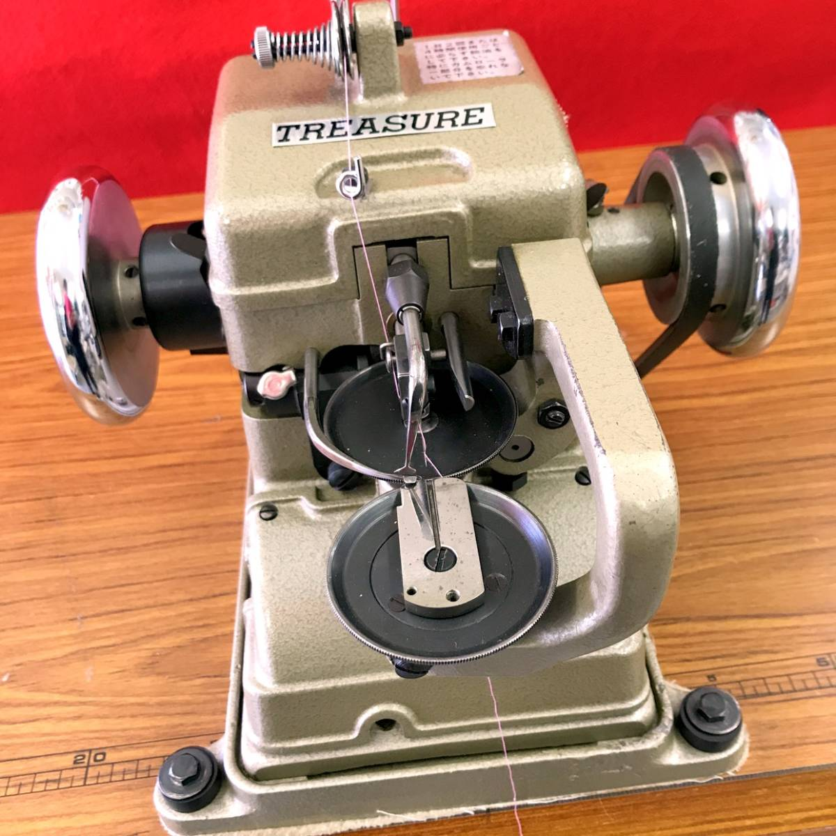 【直接引取りのみ】TREASURE  カップシーマ FS-960 毛皮・皮革・革