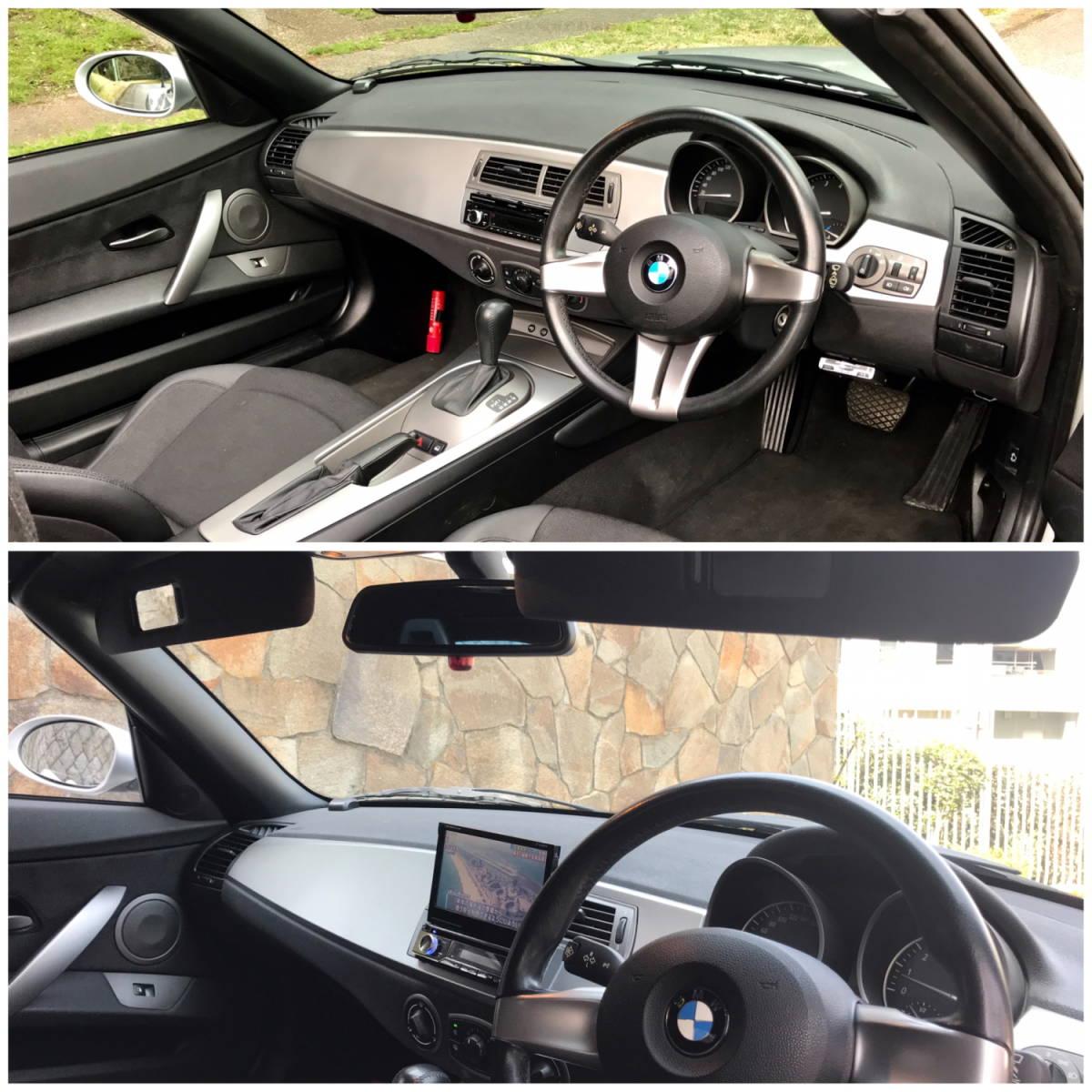 BMW Z4 2.2i 【低走行47.810 km!掘り出し物】これからの季節に最高!直列6気筒DOHC170psのシルキーシックス!ナビ/地デジ/ETC、程度抜群!_画像9
