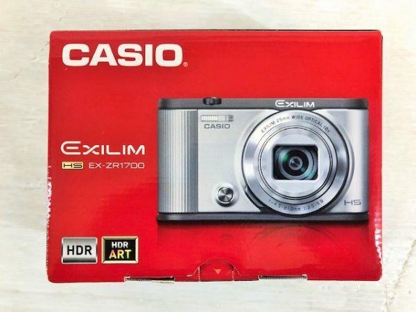 S1223-190422-99【中古】CASIO デジタルカメラ EXILIM 自分撮りチルト液晶 EX-ZR1700WR ワインレッド