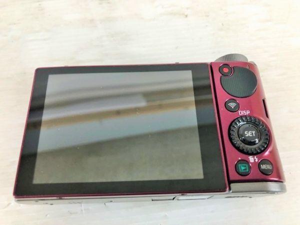 S1223-190422-99【中古】CASIO デジタルカメラ EXILIM 自分撮りチルト液晶 EX-ZR1700WR ワインレッド_画像7