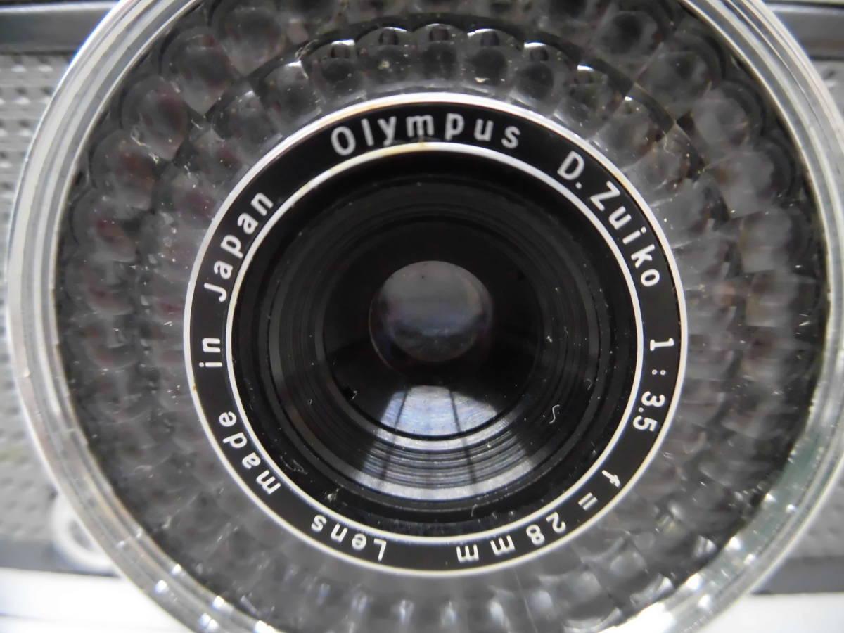 H1863棚21 OLMPUS-PEN★オリンパスペン 【EE-2】 レンジファインダー D.Zuiko 1:3.5 f=28mm_画像2