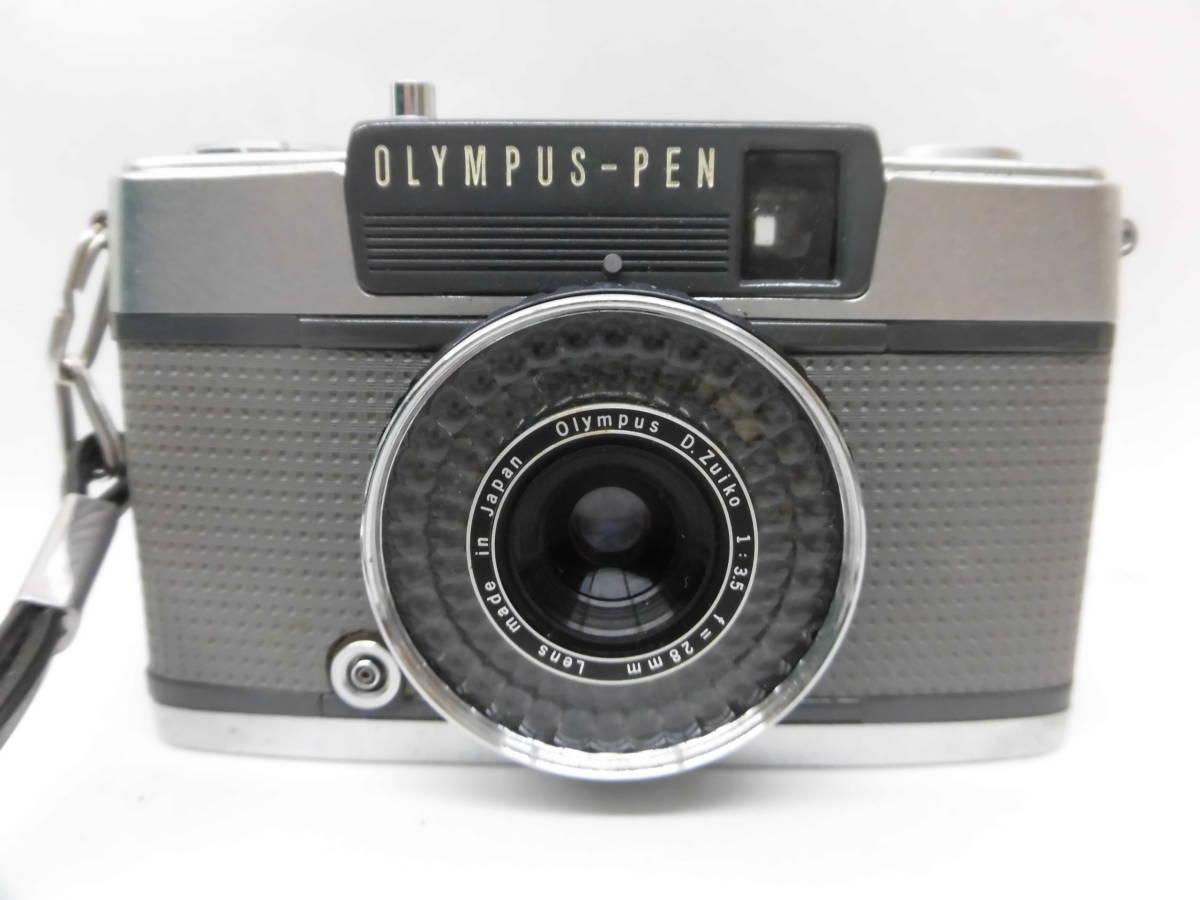 H1863棚21 OLMPUS-PEN★オリンパスペン 【EE-2】 レンジファインダー D.Zuiko 1:3.5 f=28mm_画像6