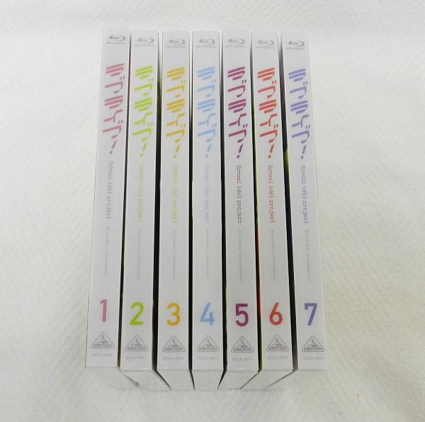 ■ ラブライブ! Love Live! 1期 ブルーレイ Blu-ray 全7巻 μ's 特装限定版 USED品!
