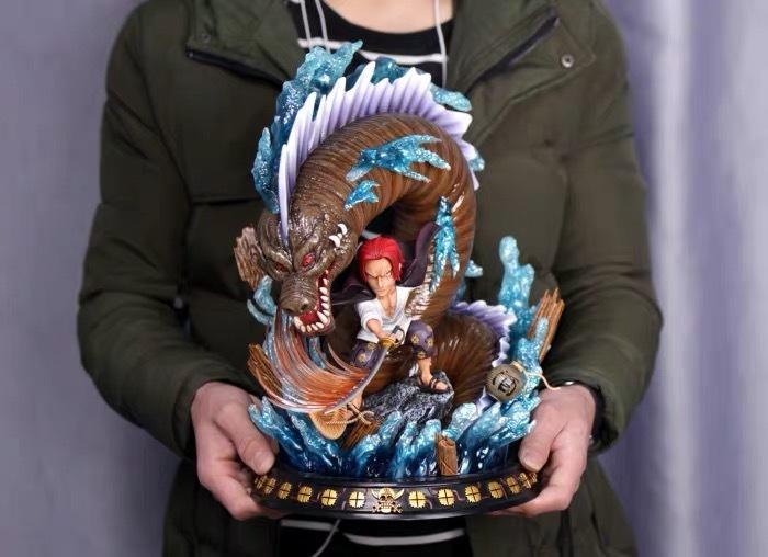 『ワンピース』在庫発売 ONE PIECE 四皇 シャンクス SD  フィギュア 彫像 BBT数量限定品 樹脂GK完成品 改造_画像5
