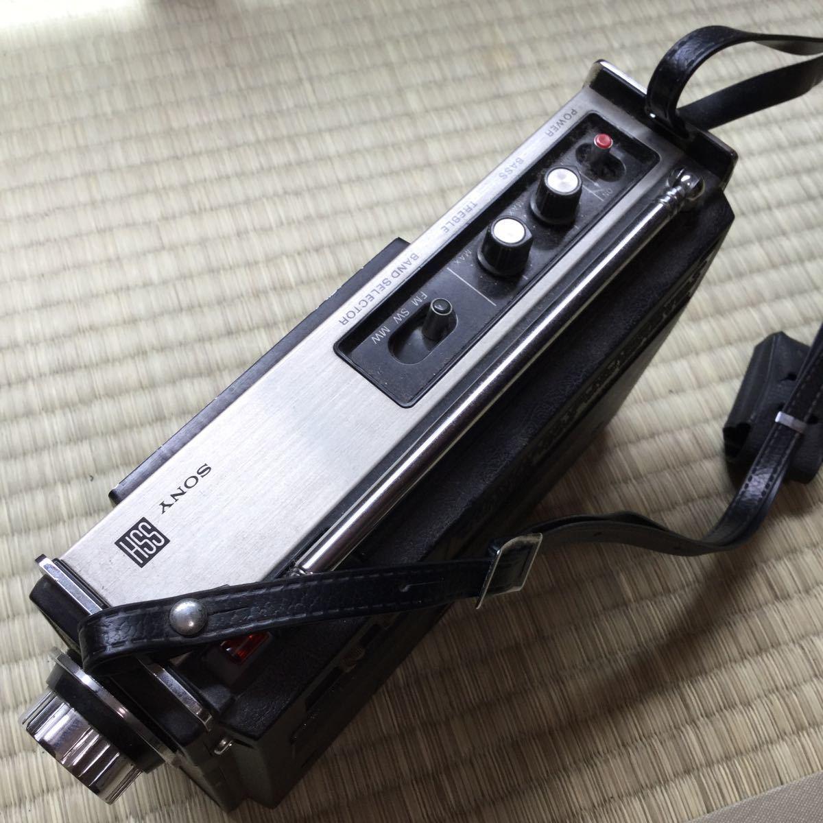 SONY ソニー ICF-1100D THE11D SW/MW/FM 3バンド ラジオ ジャンク_画像2