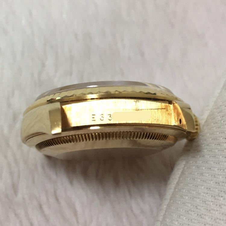 【ROLEX】ロレックス デイトジャスト 16238 K18YG イエローゴールド 18金 金無垢 自動巻腕時計 メンズ E番 1990~1991年 直接取引値下可_画像8