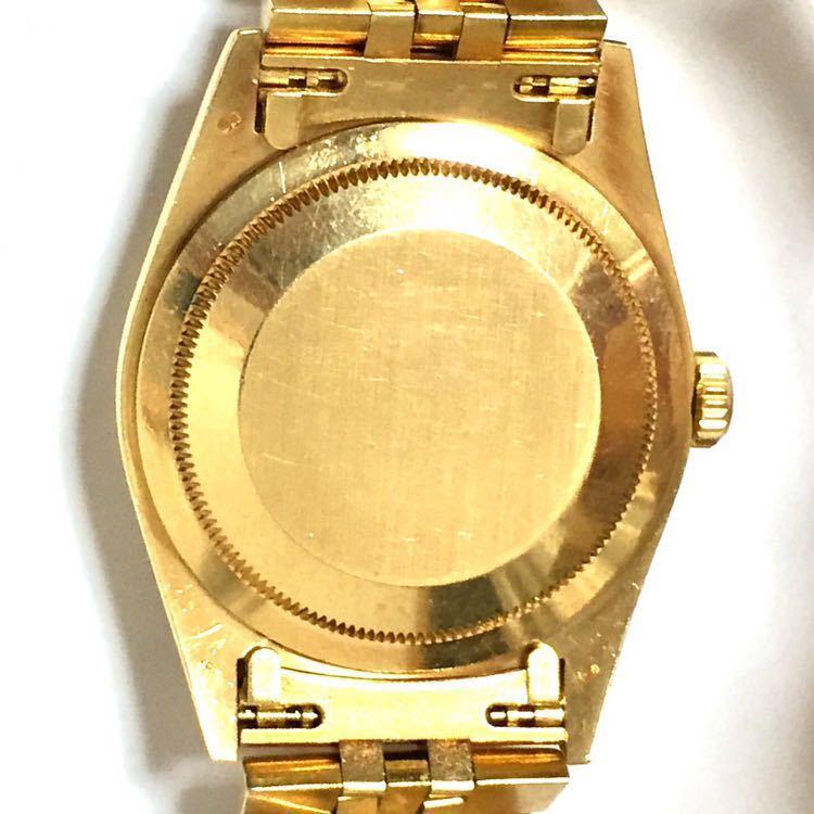 【ROLEX】ロレックス デイトジャスト 16238 K18YG イエローゴールド 18金 金無垢 自動巻腕時計 メンズ E番 1990~1991年 直接取引値下可_画像3