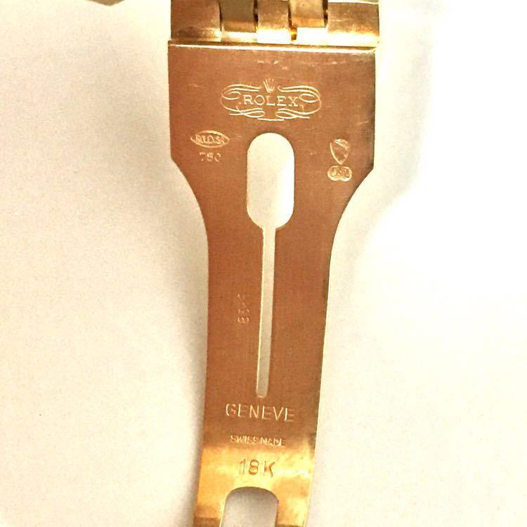 【ROLEX】ロレックス デイトジャスト 16238 K18YG イエローゴールド 18金 金無垢 自動巻腕時計 メンズ E番 1990~1991年 直接取引値下可_画像6