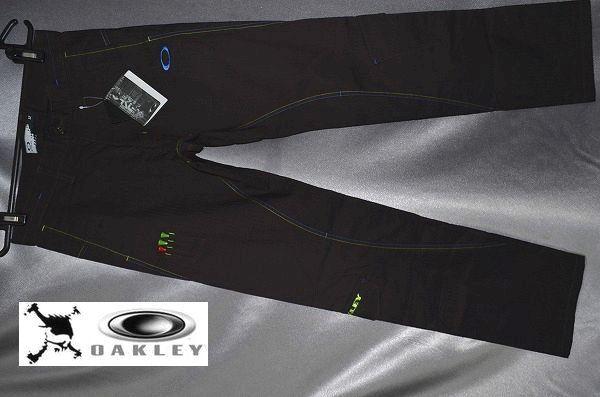 新品 33 OAKLEY GOLF オークリー ゴルフ Bark Superior Stance Straight 3D 立体裁断
