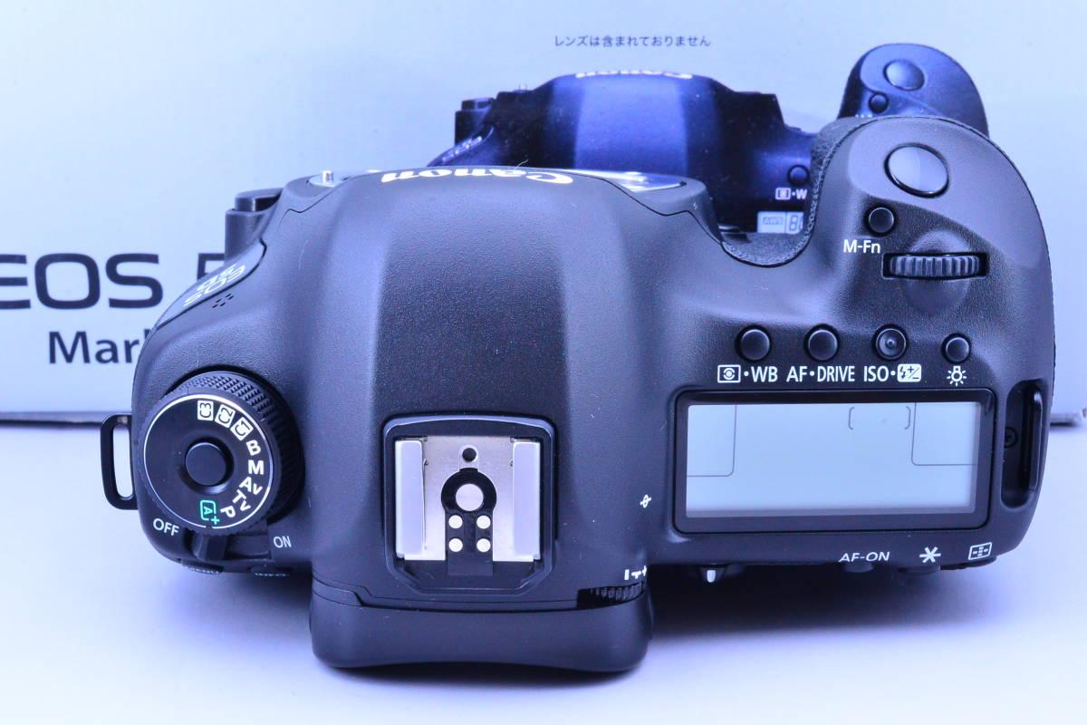 【S数5600回・新品同様】 CANON キヤノン EOS 5D Mark III マーク 3 ボディ 元箱 ★ストラップ未使用!新品と遜色ないコンディションです!_画像3