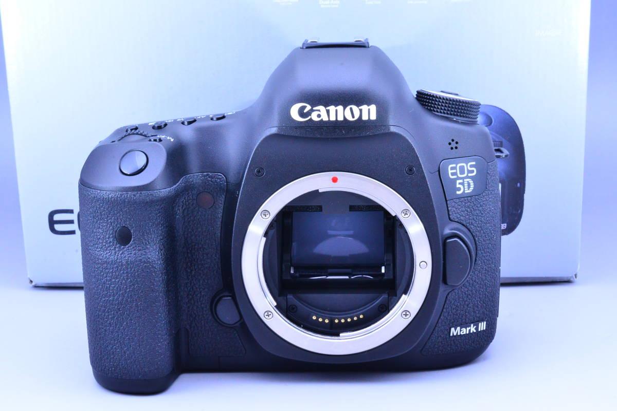 【S数5600回・新品同様】 CANON キヤノン EOS 5D Mark III マーク 3 ボディ 元箱 ★ストラップ未使用!新品と遜色ないコンディションです!_画像9