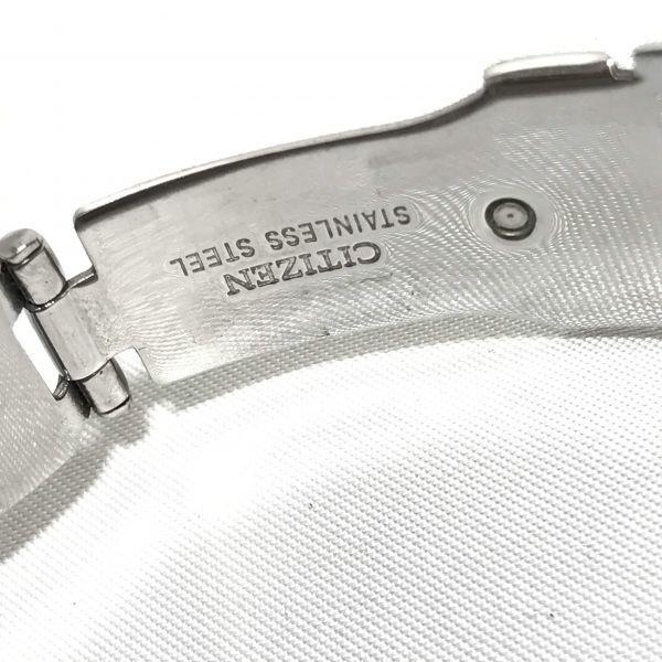 稼働品 CITIZEN シチズン エコドライブ E610-S074321 腕時計 メンズ 電波時計 ソーラー電波 時計 アテッサ シチズンウォッチ_画像8