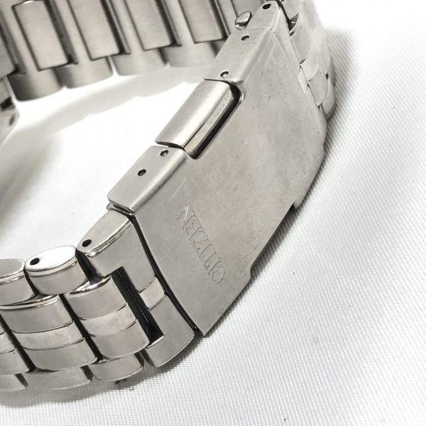 稼働品 CITIZEN シチズン エコドライブ E610-S074321 腕時計 メンズ 電波時計 ソーラー電波 時計 アテッサ シチズンウォッチ_画像6