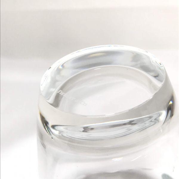 TIFFANY&Co ティファニー ペアグラス コップ カップ グラス グラマシー ガラス 食器 箱付_画像6