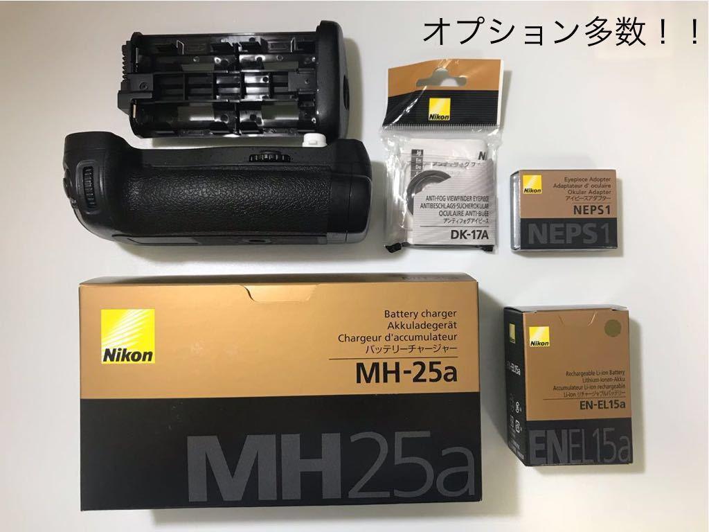 超美品! ニコン NIKON D850 オプション多数付 デジタル 一眼レフ カメラ ボディ 本体 4575万画素 最高約9コマ/秒_画像3