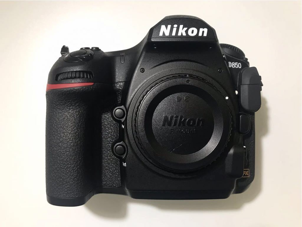 超美品! ニコン NIKON D850 オプション多数付 デジタル 一眼レフ カメラ ボディ 本体 4575万画素 最高約9コマ/秒_画像4
