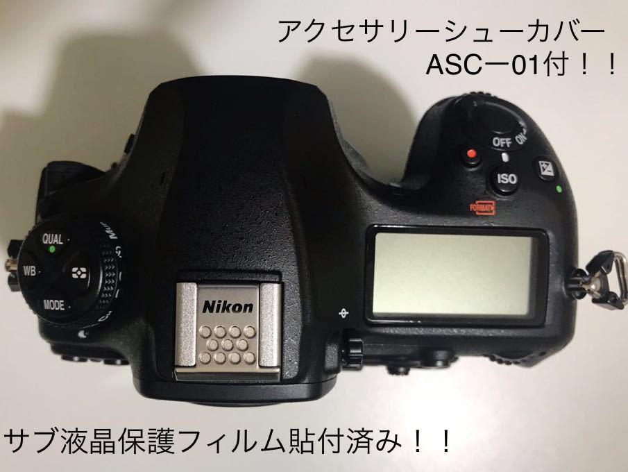 超美品! ニコン NIKON D850 オプション多数付 デジタル 一眼レフ カメラ ボディ 本体 4575万画素 最高約9コマ/秒_画像5