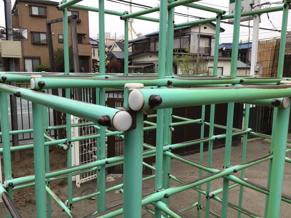 ステンレス 滑り台のみ 業務用 保育園 中古 久喜市_画像2
