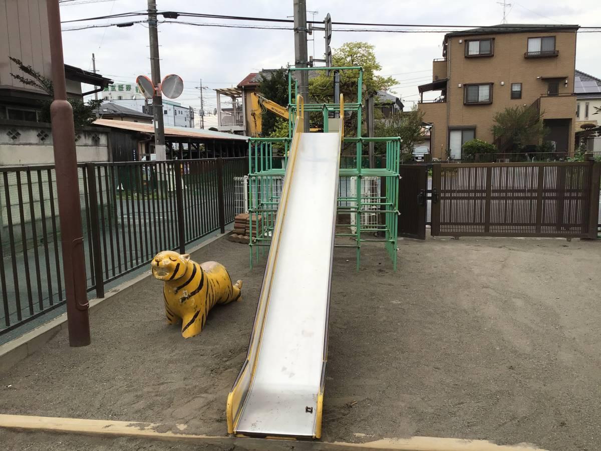 ステンレス 滑り台のみ 業務用 保育園 中古 久喜市_画像5