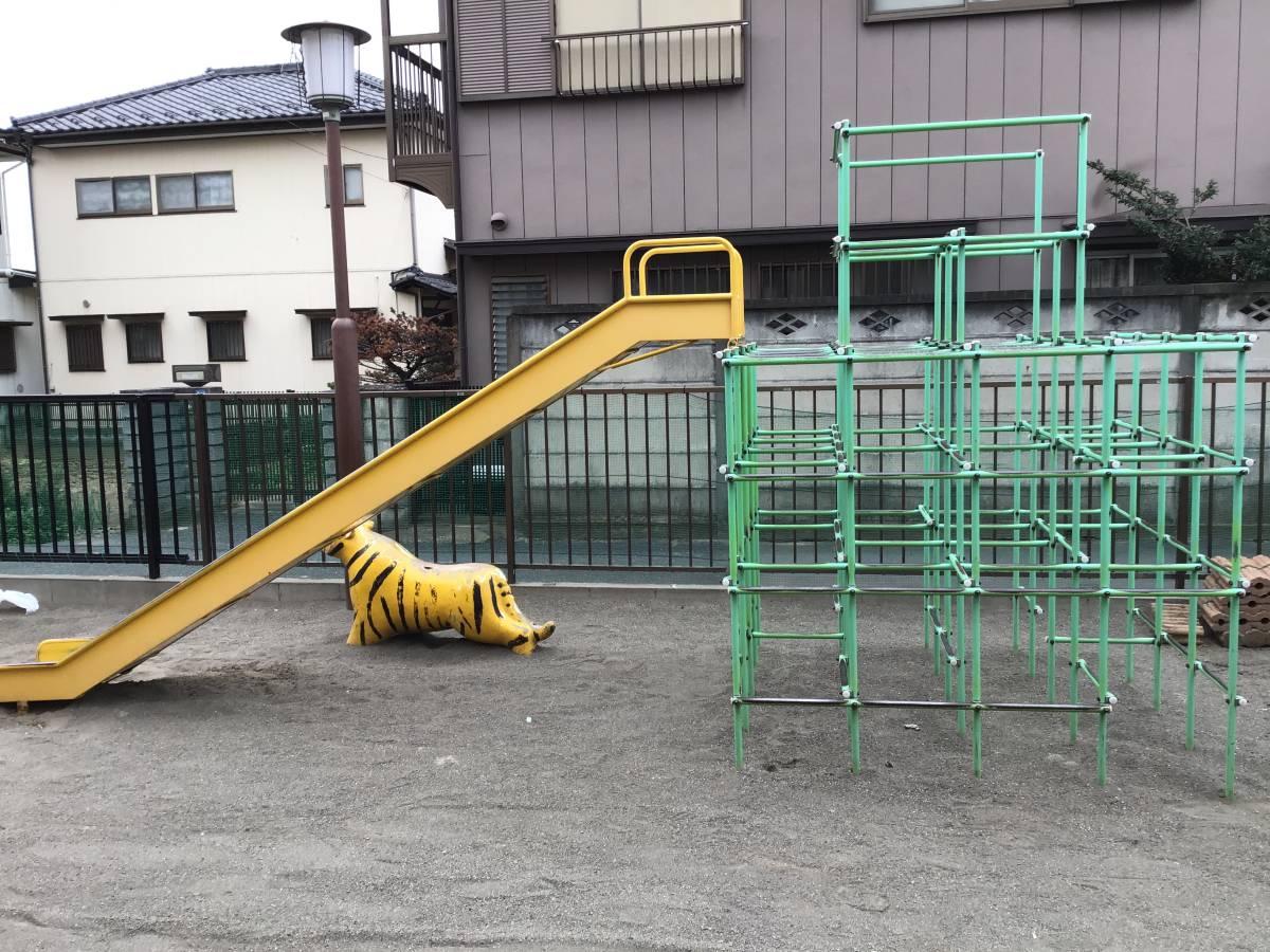 ステンレス 滑り台のみ 業務用 保育園 中古 久喜市_画像4