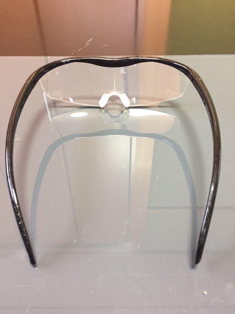 Hazuki ハズキルーペ 1.6倍 拡大鏡 ルーペ 老眼鏡 ブルーライトカット メガネ 中古_画像4