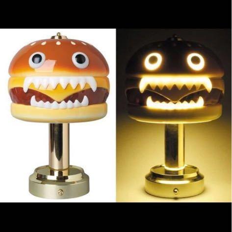 新品未使用 2018 MEDICOM TOY x UNDERCOVER HAMBURGER LAMP ハンバーガー ランプ 一円スタート_画像2