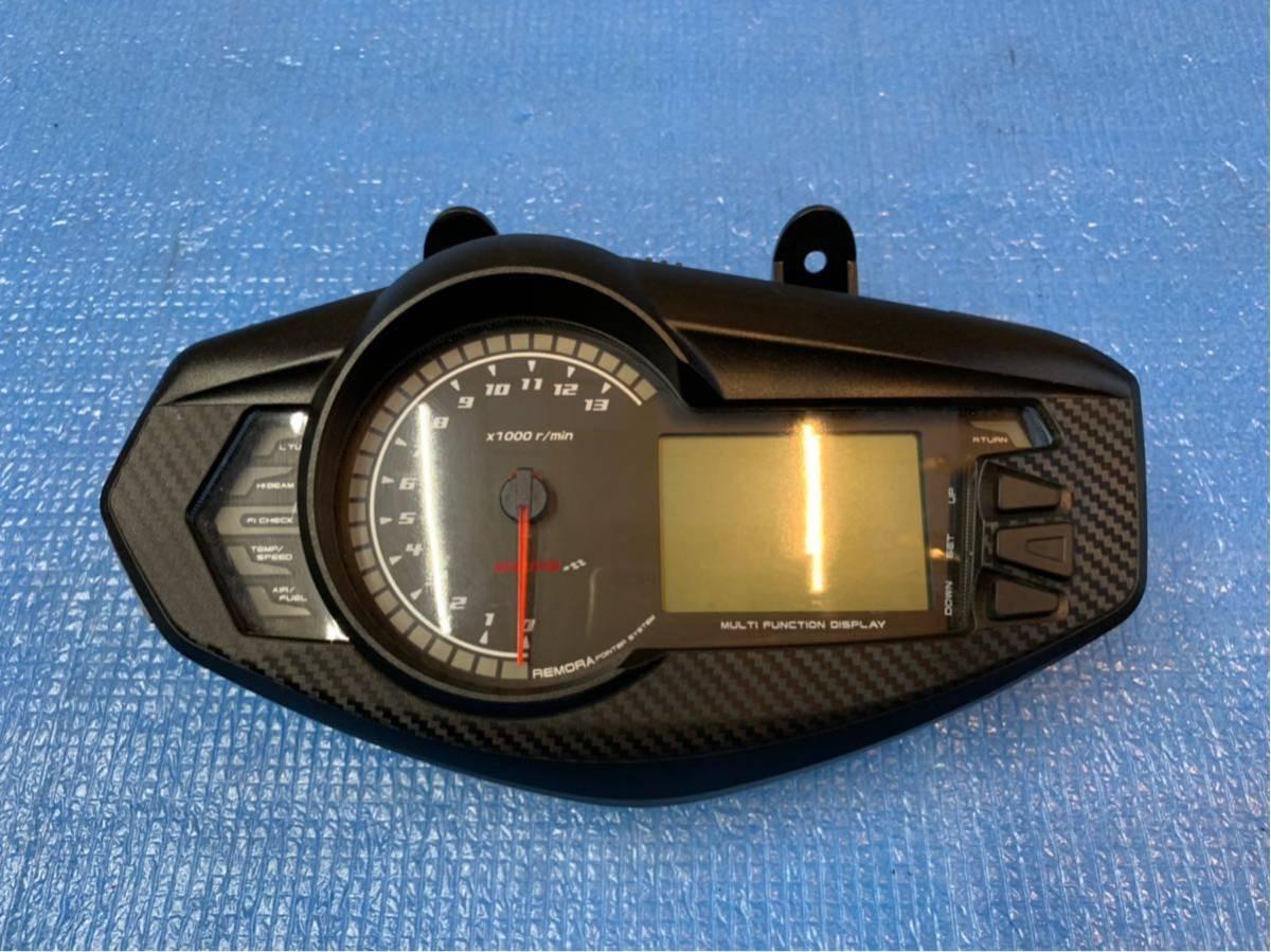 ★500スタ シグナスX 4型 KOSO製 デジタル多機能メーター SEA5J/SED8J (検 シグナス SE12J SE44J アドレス ズーマー PCX
