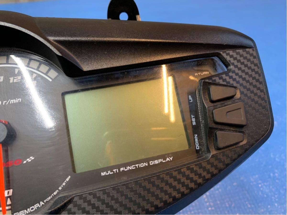 ★500スタ シグナスX 4型 KOSO製 デジタル多機能メーター SEA5J/SED8J (検 シグナス SE12J SE44J アドレス ズーマー PCX_画像3
