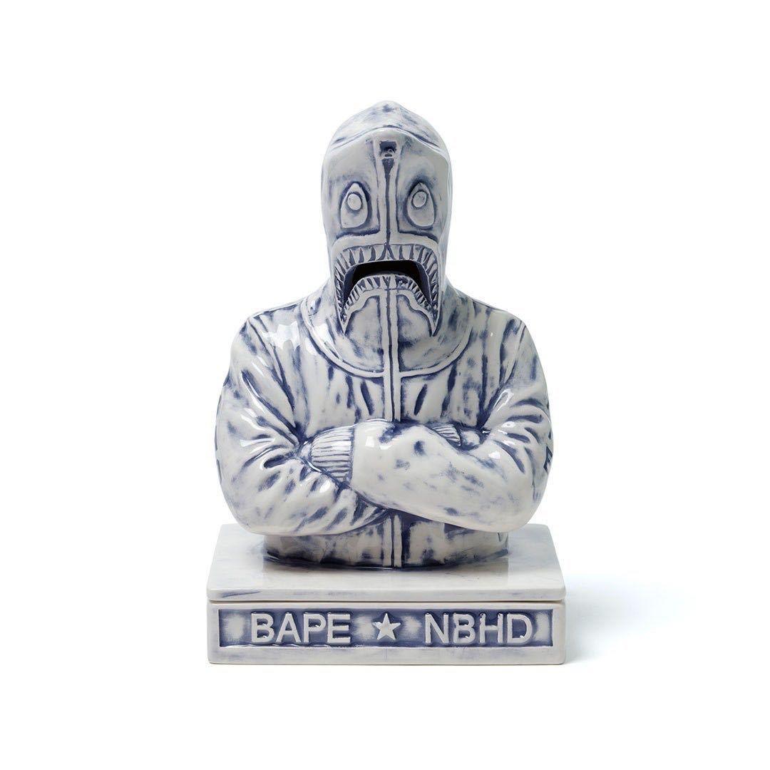 bape neighborhood A BATHING APE BAPE × NBHD SHARK INCENSE CHAMBER Blue 新品 ベイシングエイプ ネイバーフッド