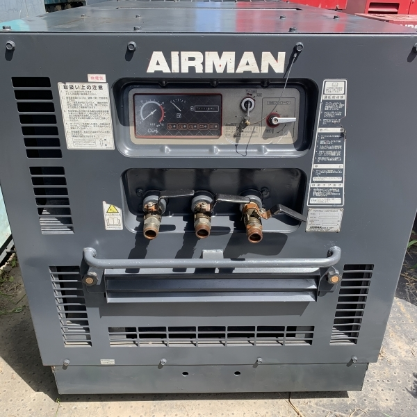 【アフタークーラー】AIRMANエアマン エアーコンプレッサー PDS175SC_画像4