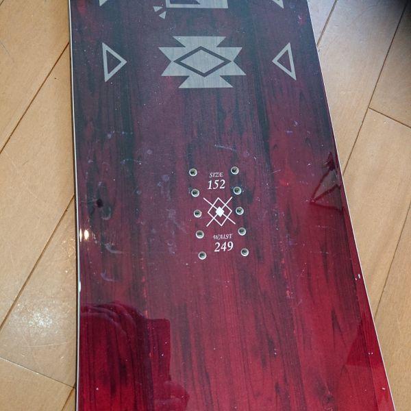 17-18 OGASAKA AST 152 アステリア スノーボード板 おまけあり_画像2